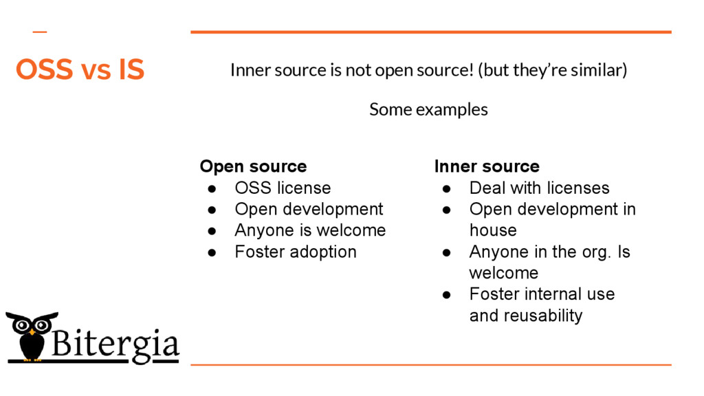 Inner source is not open source! (but they're s...