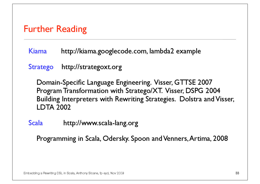 Embedding a Rewriting DSL in Scala, Anthony Slo...
