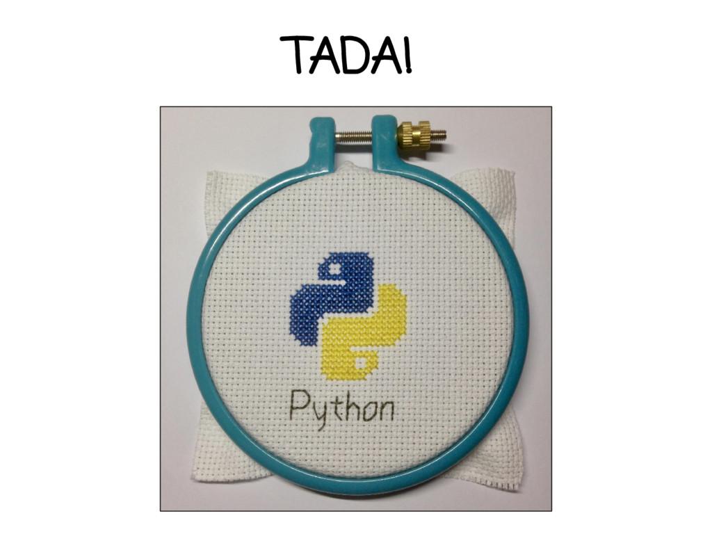 TADA!