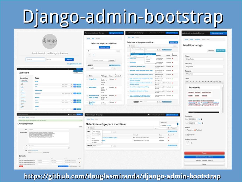 Django-admin-bootstrap Django-admin-bootstrap h...