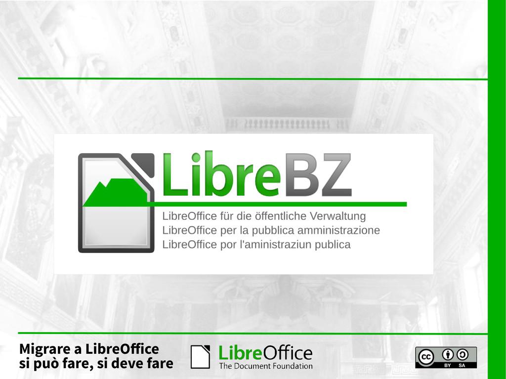 Migrare a LibreOffice si può fare, si deve fare