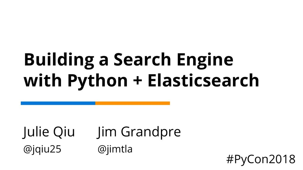 Building a Search Engine with Python + Elastics...