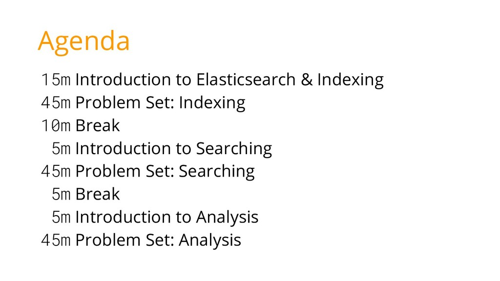 15m Introduction to Elasticsearch & Indexing 45...