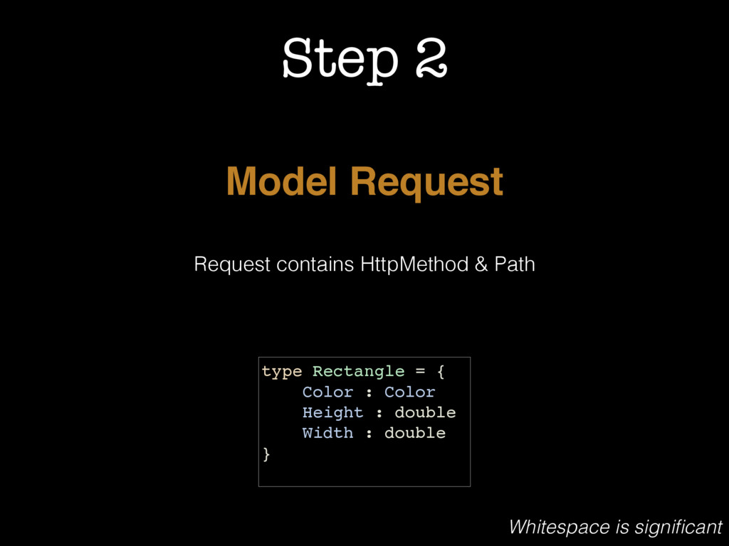 Step 2 Model Request Request contains HttpMetho...