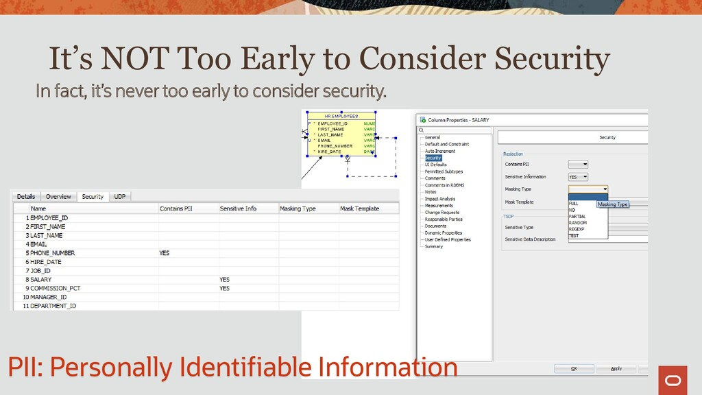 It's NOT Too Early to Consider Security In fact...