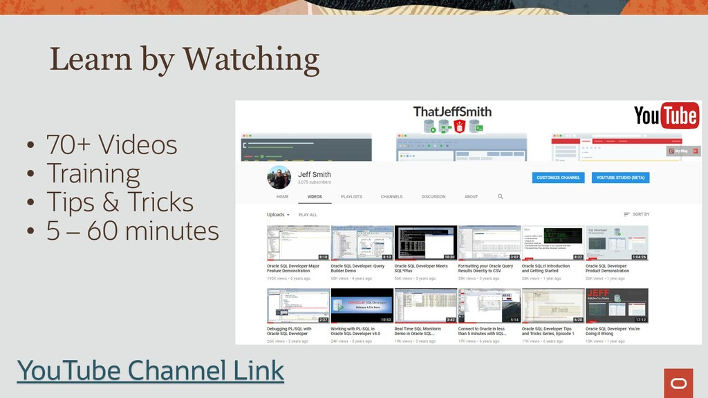Learn by Watching • 70+ Videos • Training • Tip...