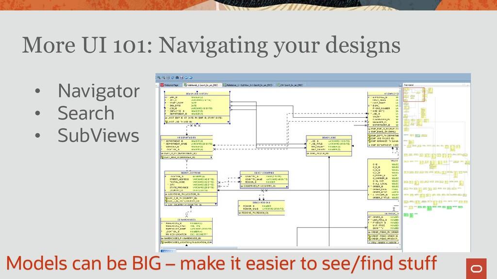 More UI 101: Navigating your designs • Navigato...