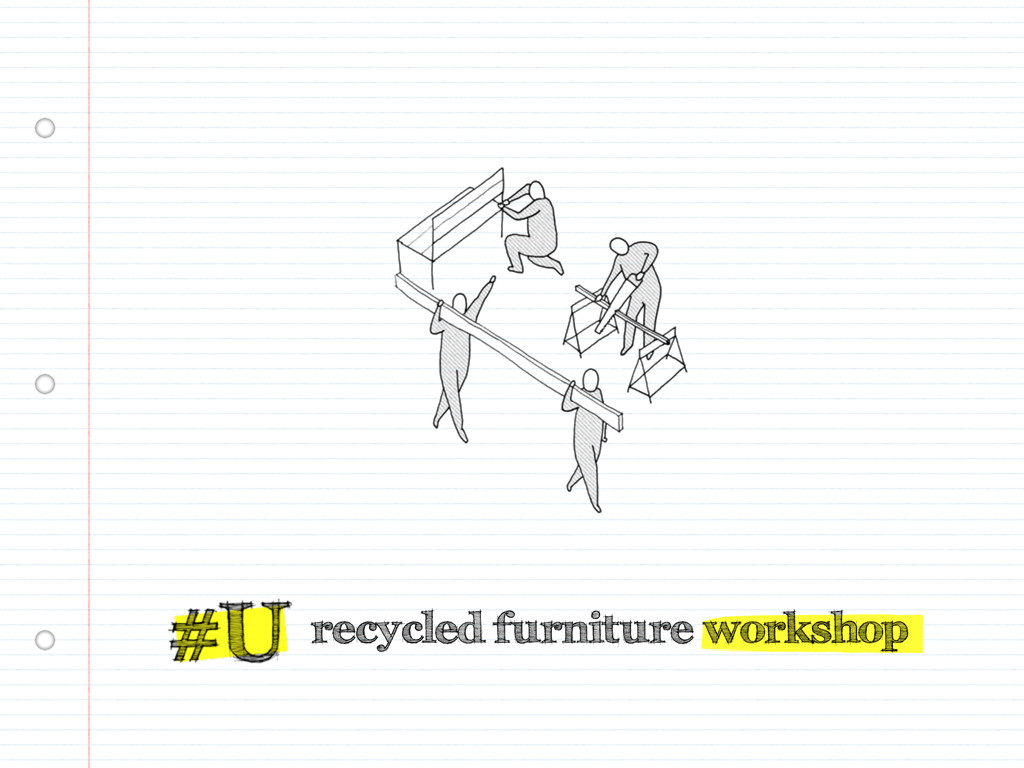 recycled furniture workshop