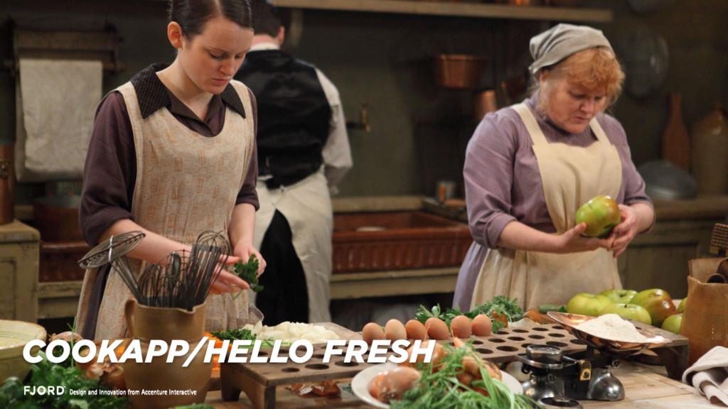 COOKAPP/HELLO FRESH