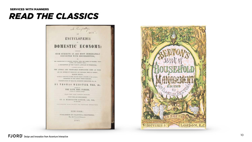 10 READ THE CLASSICS SERVICES WITH MANNERS
