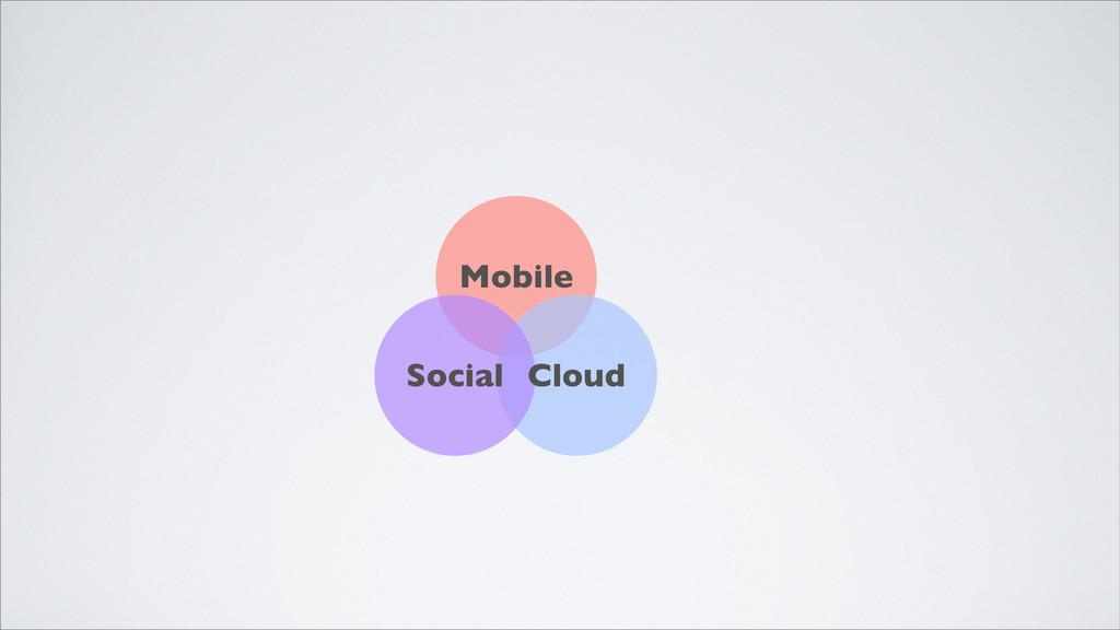 Mobile Cloud Social