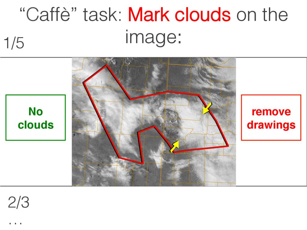 """Сaffè"" task: Shape a person:! remove drawings!..."