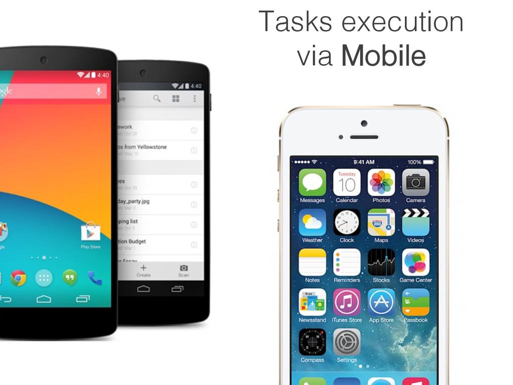 Tasks creation via Desktop!