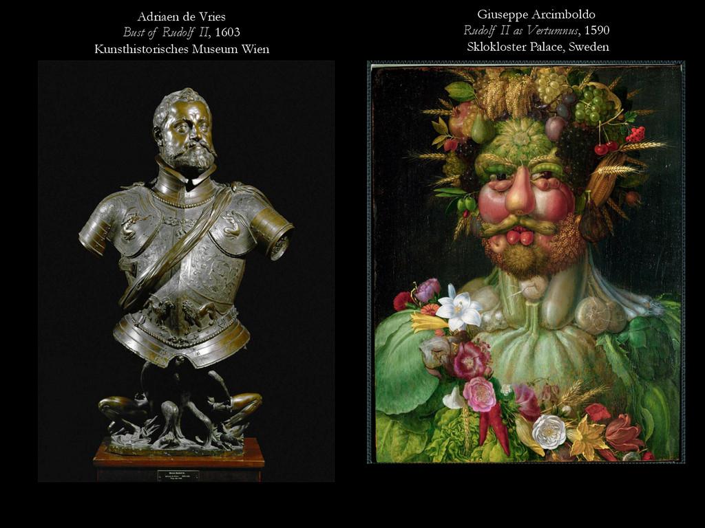 Adriaen de Vries Bust of Rudolf II, 1603 Kunsth...