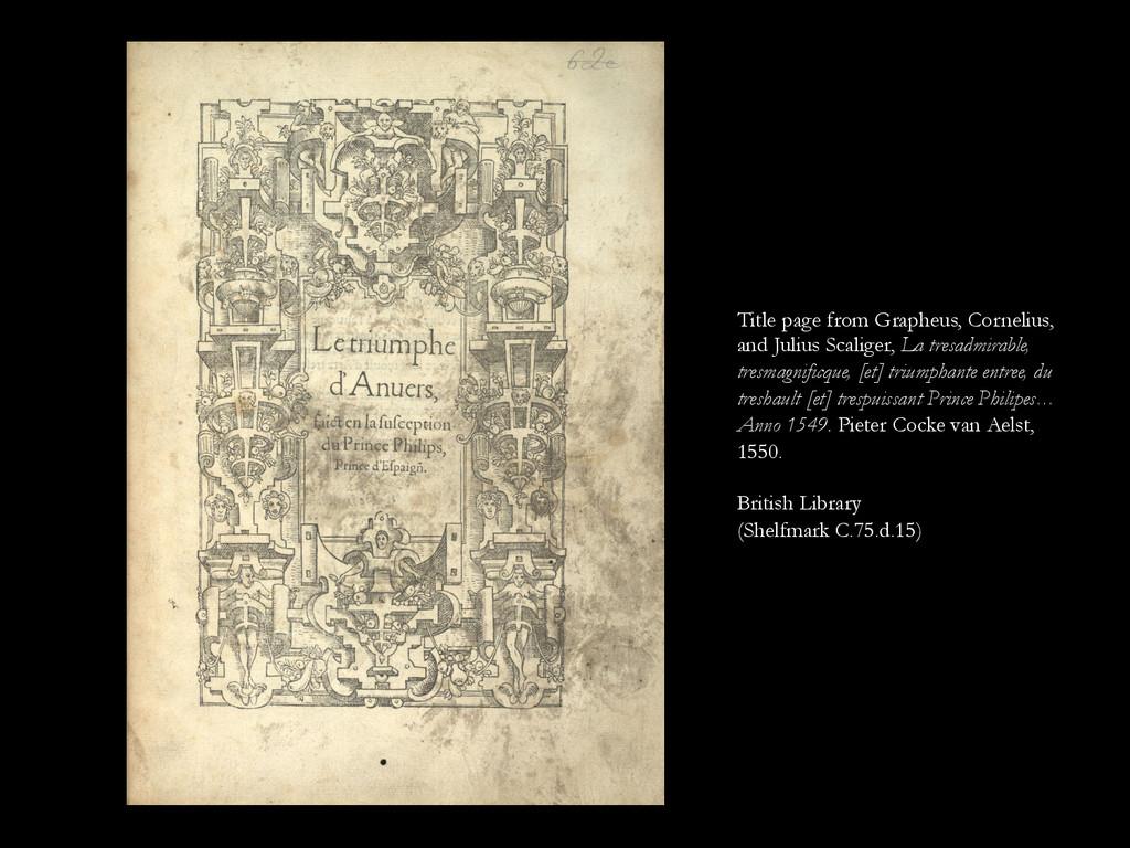Title page from Grapheus, Cornelius, and Julius...