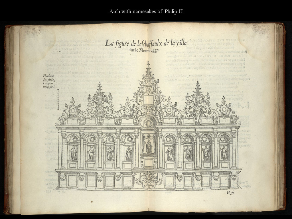 Arch with namesakes of Philip II