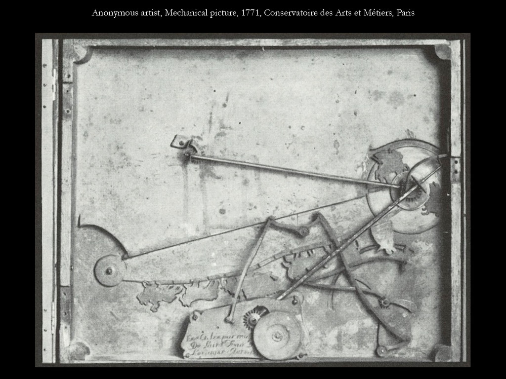 Anonymous artist, Mechanical picture, 1771, Con...