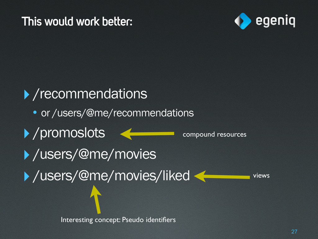 This would work better: ‣/recommendations • or ...