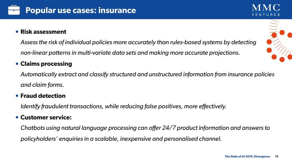 • Risk assessment Assess the risk of individua...