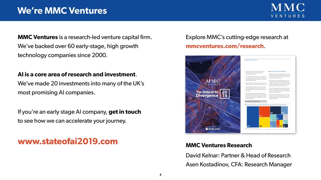 MMC Ventures is a research-led venture capital ...