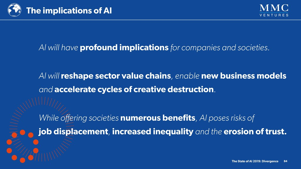 The implications of AI The State of AI 2019: Di...
