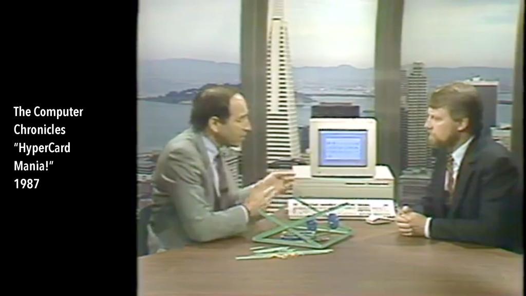 "The Computer Chronicles ""HyperCard Mania!"" 1987"