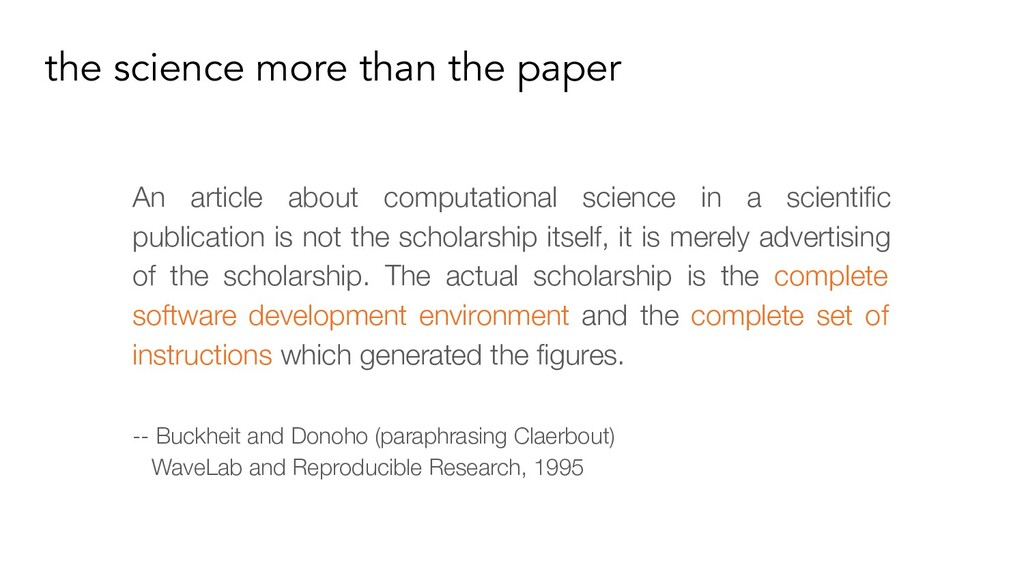 the science more than the paper An article abou...