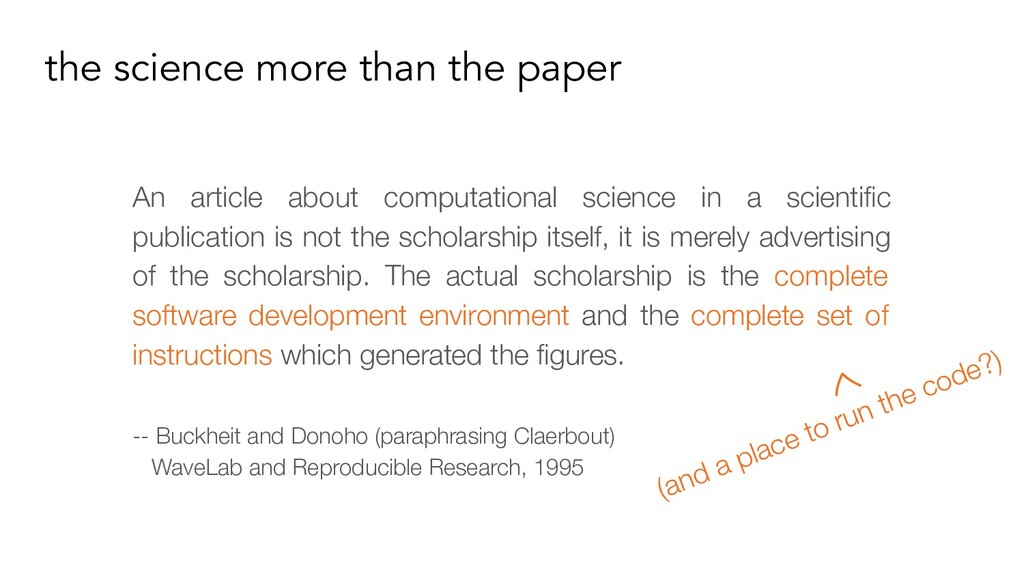 An article about computational science in a sci...