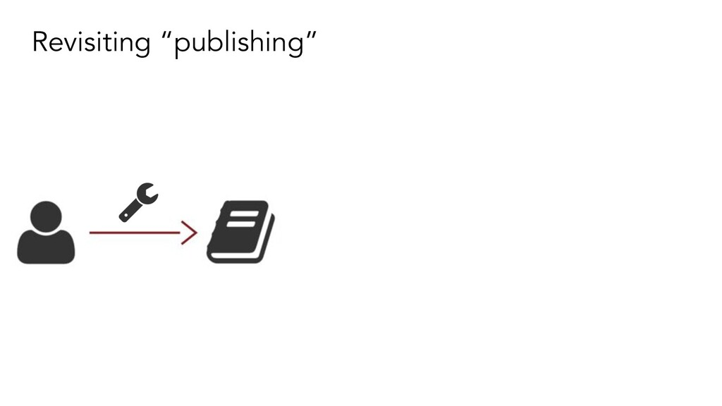"Revisiting ""publishing"""