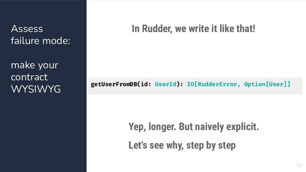 getUserFromDB(id: UserId): IO[RudderError, Opti...