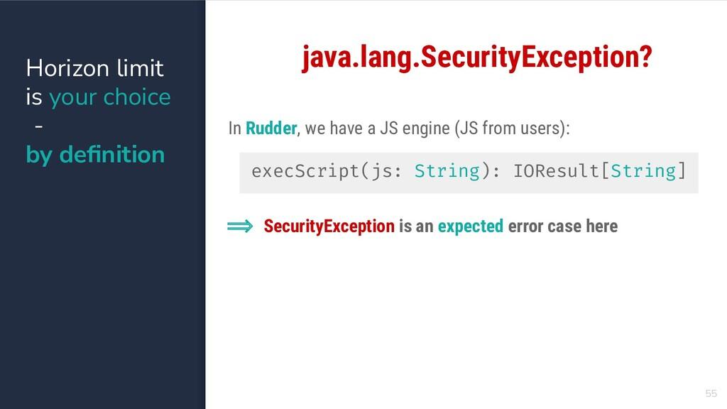 55 java.lang.SecurityException? execScript(js: ...