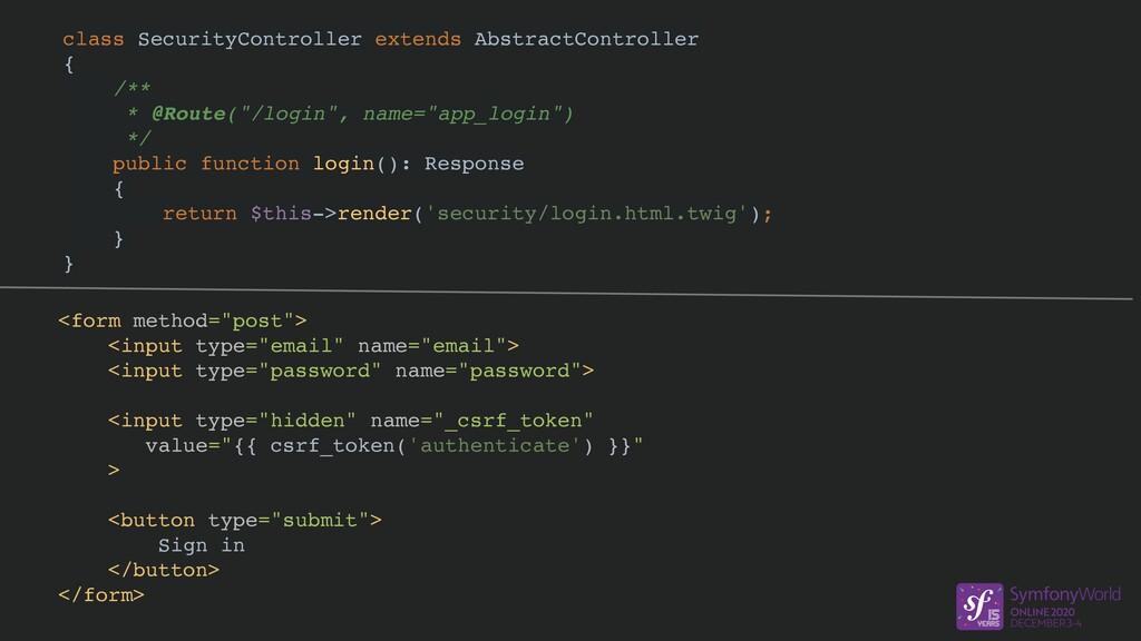 class SecurityController extends AbstractContro...