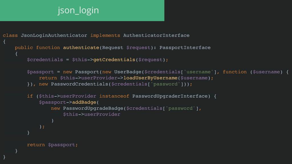 class JsonLoginAuthenticator implements Authent...