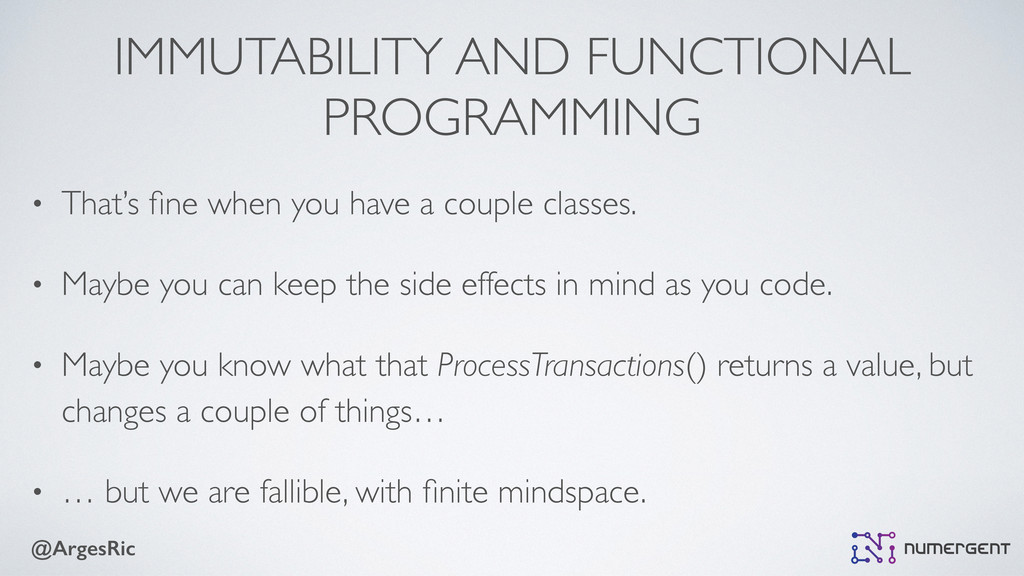 @ArgesRic IMMUTABILITY AND FUNCTIONAL PROGRAMMI...