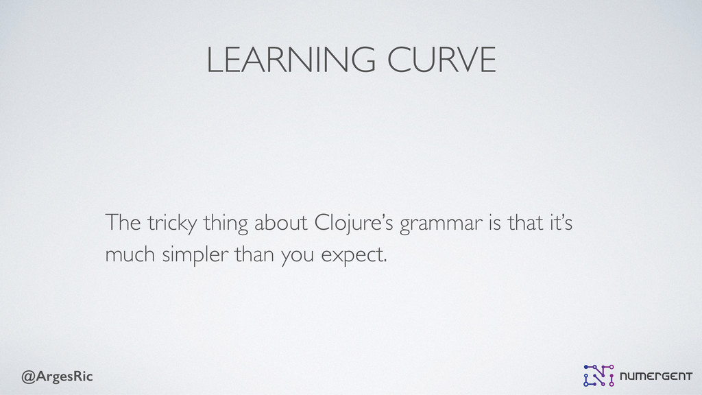 @ArgesRic LEARNING CURVE The tricky thing about...