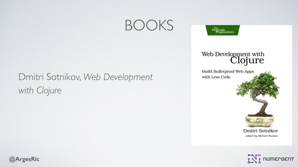 @ArgesRic BOOKS Dmitri Sotnikov, Web Developmen...