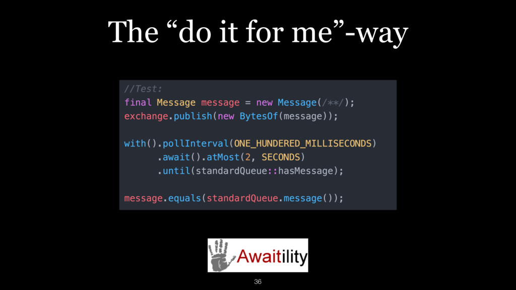 """The """"do it for me""""-way 36"""
