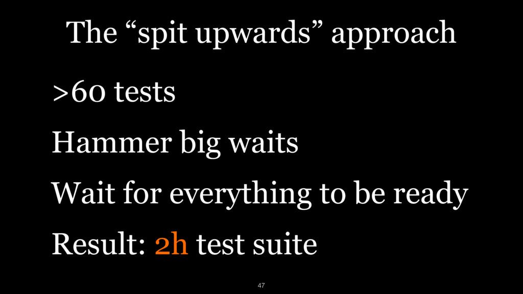 "The ""spit upwards"" approach >60 tests Hammer bi..."
