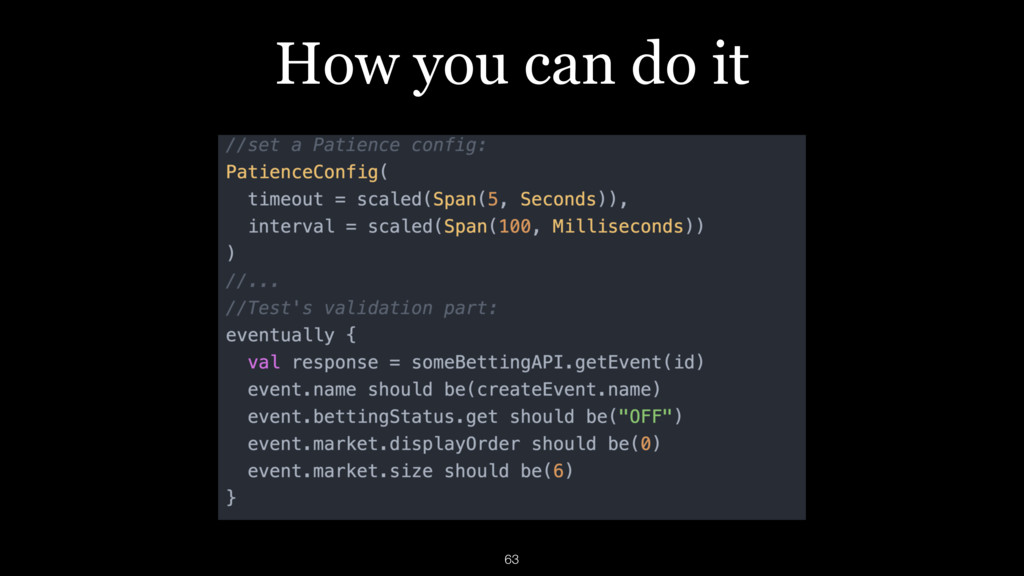 How you can do it 63