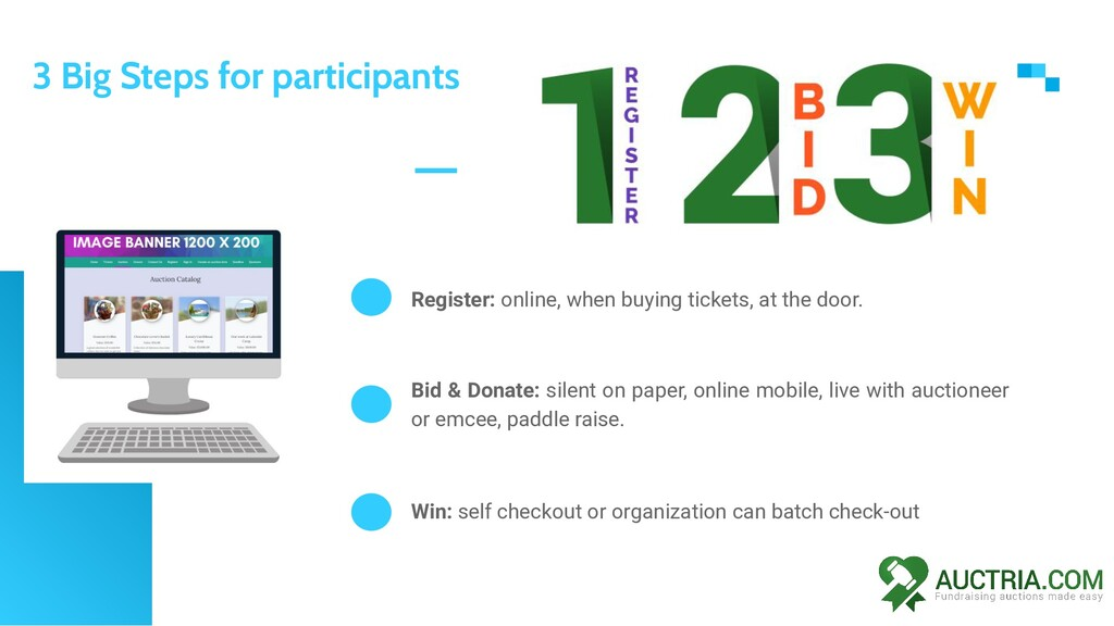 Register: online, when buying tickets, at the d...