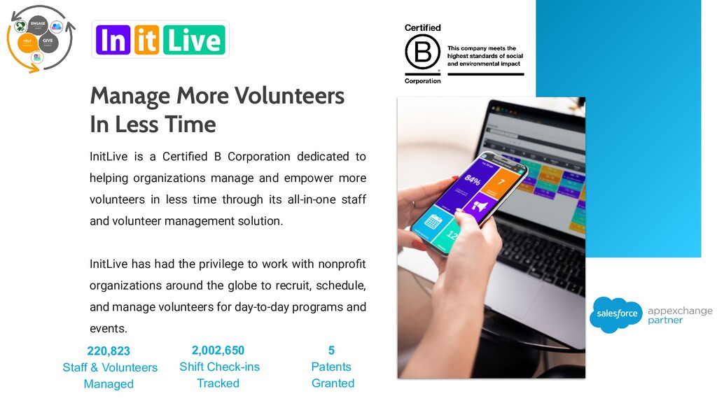 InitLive is a Certified B Corporation dedicated ...