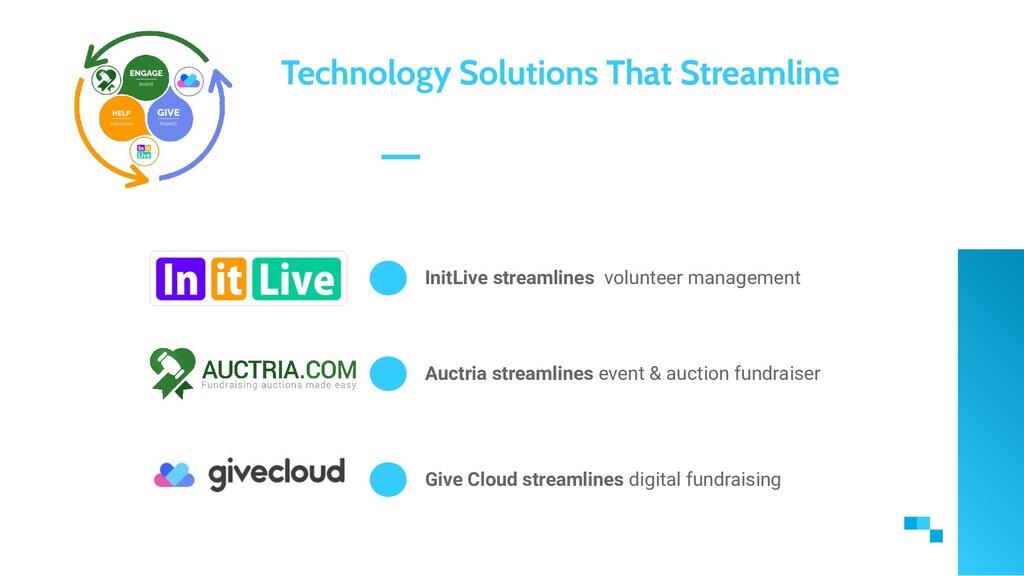 InitLive streamlines volunteer management Techn...