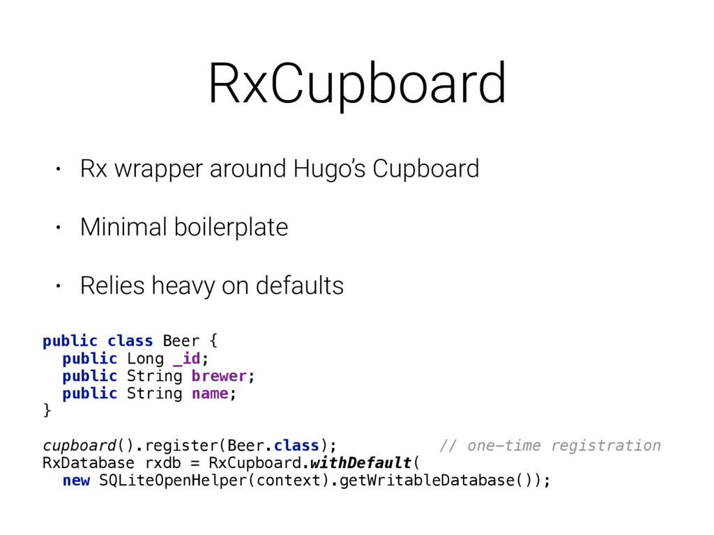 RxCupboard • Rx wrapper around Hugo's Cupboard ...
