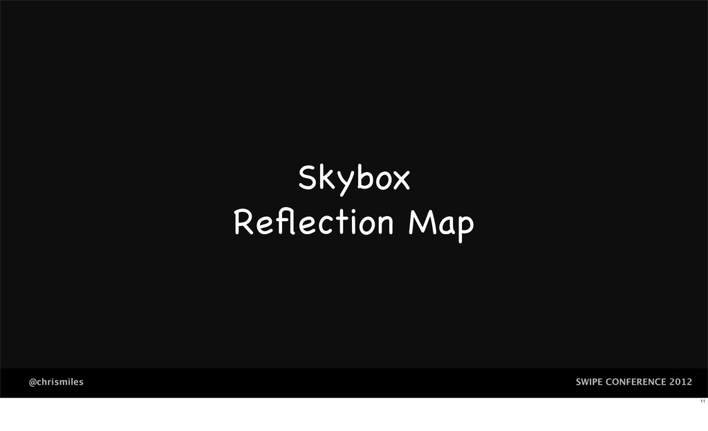 SWIPE CONFERENCE 2012 @chrismiles Skybox Reflect...