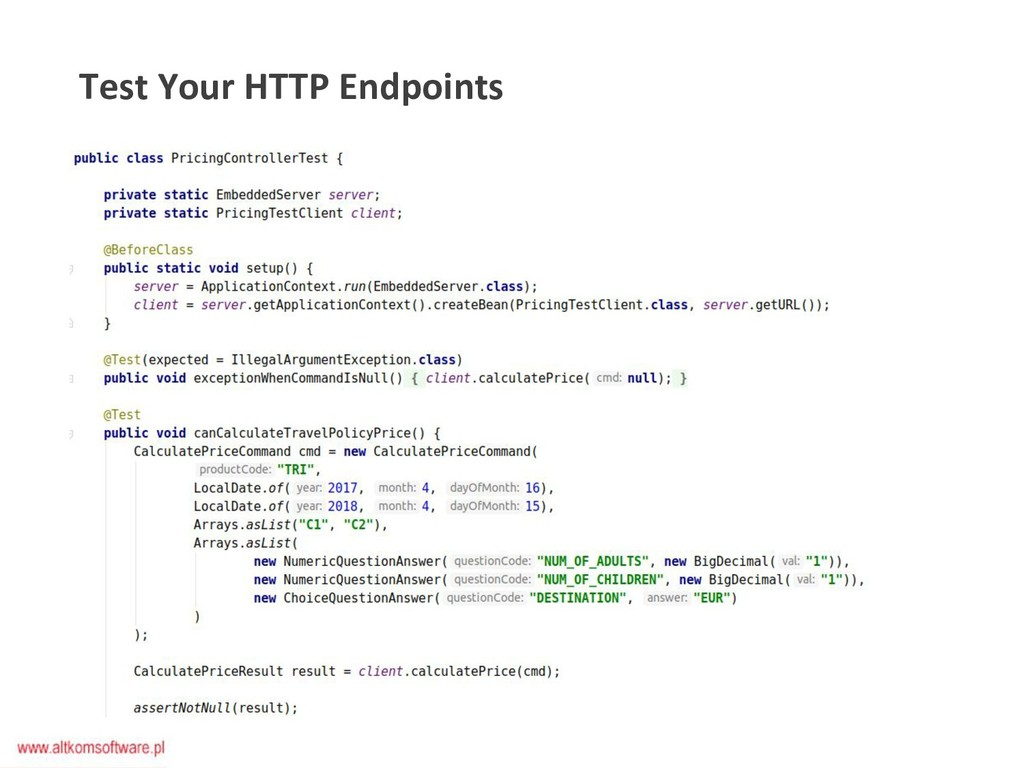 Test Your HTTP Endpoints