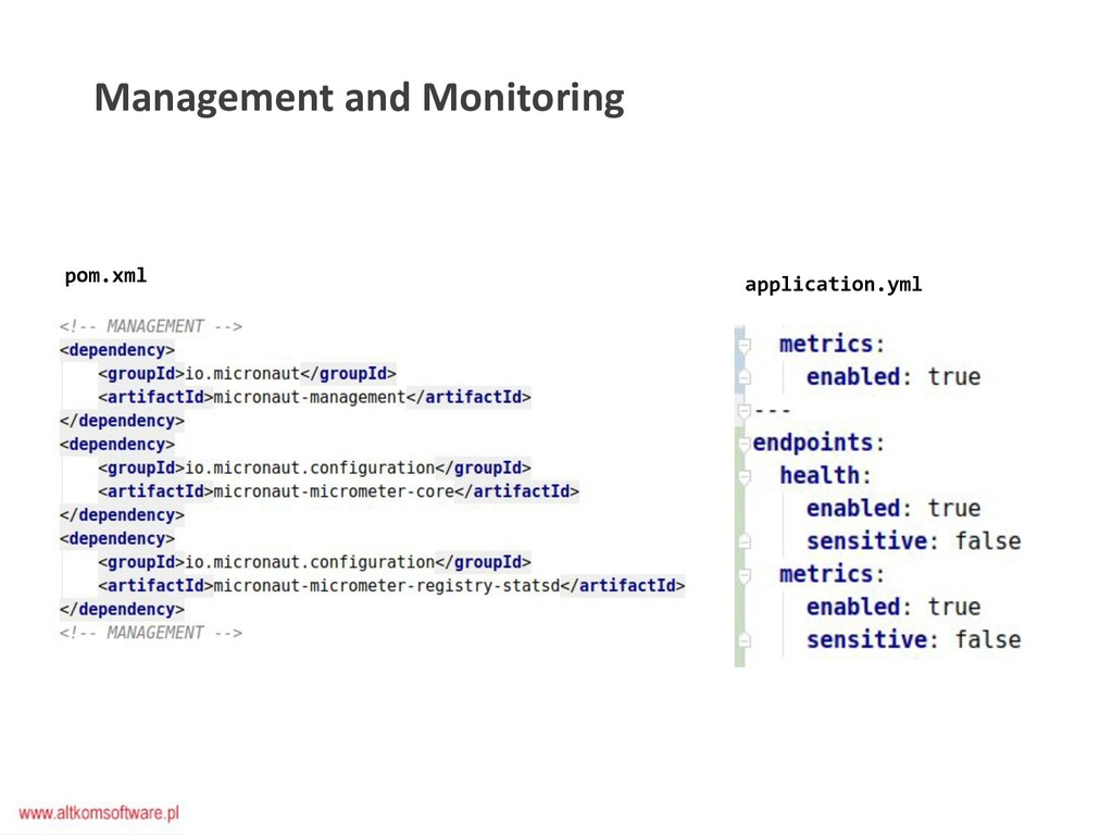 Management and Monitoring pom.xml application.y...