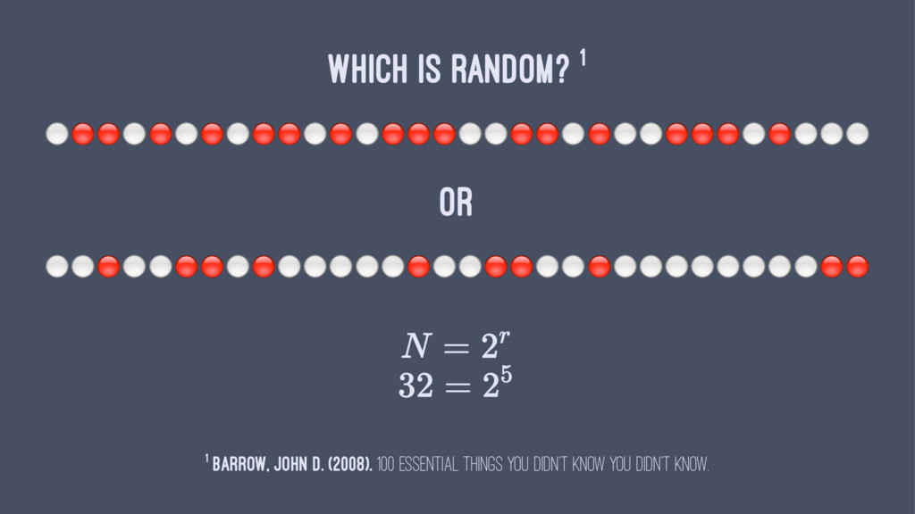 """WHICH IS RANDOM? 1 ⚪""""""""⚪""""⚪""""⚪""""""""⚪""""⚪""""""""""""⚪⚪""""""""⚪""""⚪⚪""""""""""""⚪..."""