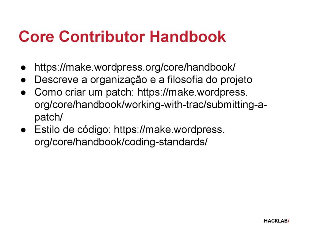 HACKLAB/ Core Contributor Handbook ● https://ma...