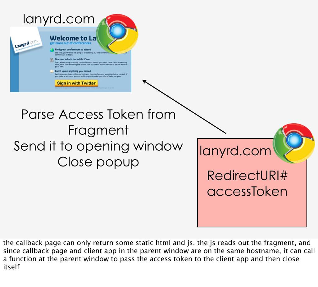 RedirectURI# accessToken Parse Access Token fro...