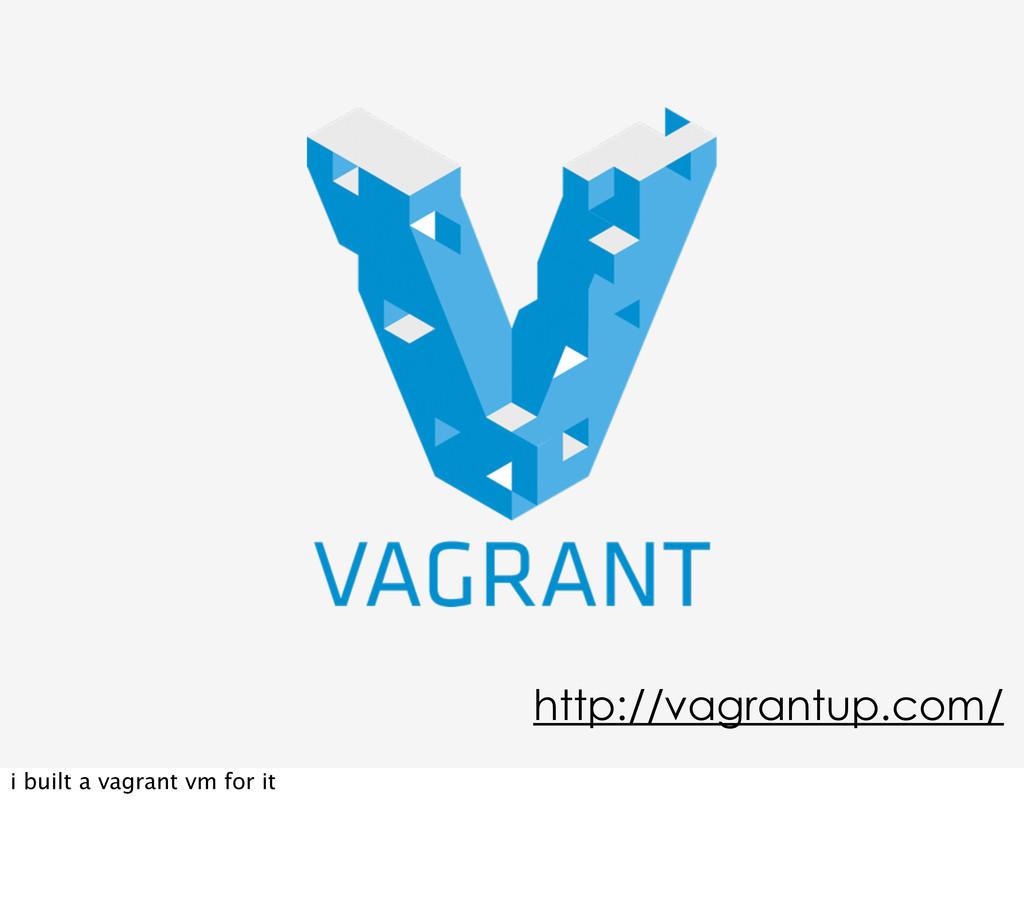 http://vagrantup.com/ i built a vagrant vm for ...